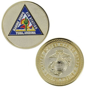 Marine Corps Challenge Coin Air Station Yuma, Arizona