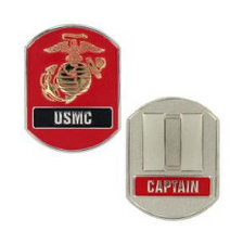 Marine Corps Challenge Coin Captain