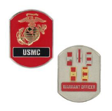 Marine Corps Challenge Coin Warrant Officer