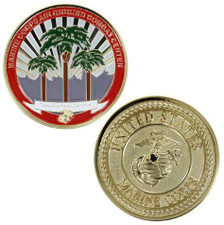 Marine Corps Challenge Coin Marine Corps Base 29 Palms