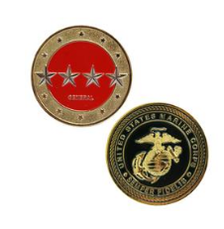 Marines Corps Challenge Coin General