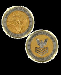 Navy Challenge Coin E6 Petty Officer First Class