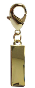 Pet Insignia Rank Charm - 2nd Lieutenant