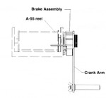 Sounding Reel Drag Brake, A-55