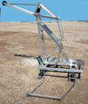 USGS Type E Heavy Duty Crane with 4 Wheel truck