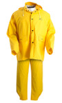 Onguard Three-Piece Rainsuit, 34in - 36in Chest, With Bib Overalls
