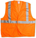 ANSI Class 2 Mesh Safety Vest, Orange, Size XXL/XXXL