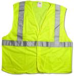 ANSI Class 2 Mesh Safety Vest, Lime, Size XXL/XXXL