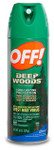 Aerosol Spray Deep Woods OFF!®, 6 oz. Can (25% DEET)