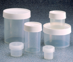 Thermo Scientific™ Nalgene™ Straight-Side Polypropylene Jars with Screw Caps, 6/pak