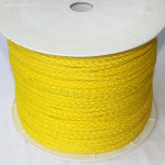 "Hollow Braided Poly Rope, 1/4"", 1000ft Spool"