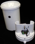Tipping Bucket Rain Gage, 1.0mm w/Siphon