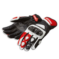 Ducati Sport C2 Gloves by Spidi (Red)