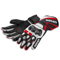 Ducati Performance Gloves by Spidi (White)