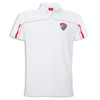Ducati Corse Men's Polo Shirt (White)