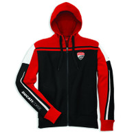 Ducati Corse Men's Hooded Sweatshirt (Black)