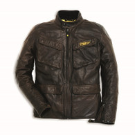 Ducati Scrambler Quattrotasche Men's Leather Jacket