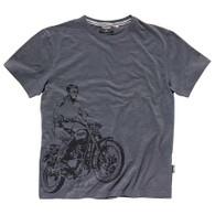 Triumph McQueen Bike Print T-Shirt