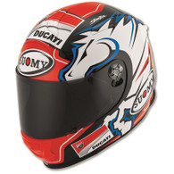 Ducati Dovizioso Replica Helmet by Suomy (Blue)