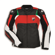 Ducati Corse C3 Perforated Leather Jacket by Dainese