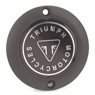 Triumph Black Badge Clutch Cover