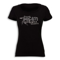 Ducati Retro Ladies T-Shirt