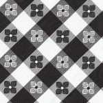 Tavern Checks Rectangle And Oval Vinyl Tablecloths Flannel