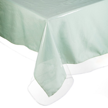 Heavy Duty Clear Vinyl Tablecloth Yourtablecloth