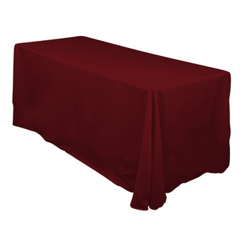 Ruby Poly Rectangle Cloth Tablecloth