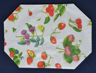 Vinyl Placemats with Wild Berries