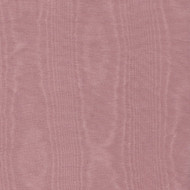 Moire Fitted Round Vinyl Pink Tablecloth