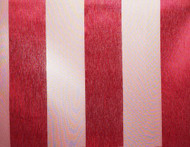 Red Eternity Stripe Round Tablecloths