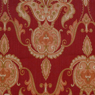 Square Burgundy Tapestry Tablecloth