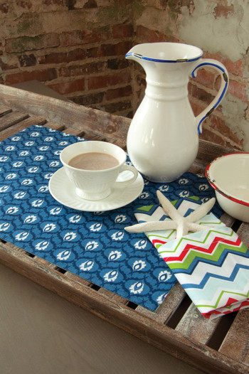 Nantucket Placemats and Napkins Set