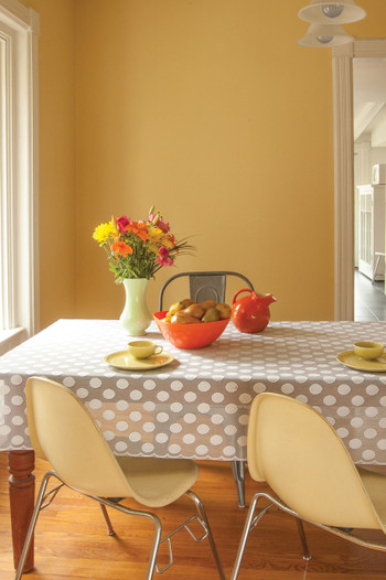 Rectangle Polka Dot Tablecloth