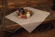 Cafe Oak Leaf Lace Table Toppers