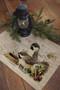 Winter Garden Chickadee Bird Placemats