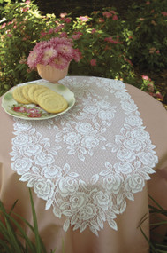 Tea Rose Table Runner