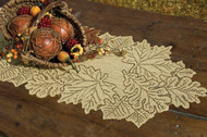 Leaf Fall Table Runners Goldenrod Color