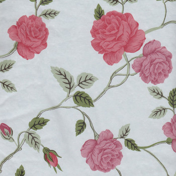 Manchester Rose Floral Vinyl Tablecloth