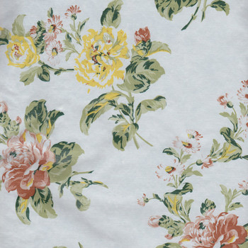 Savoy Garden Flannel Back Vinyl Tablecloth