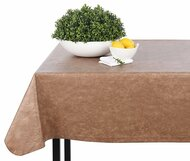 Camel Print Vinyl Table Cloth