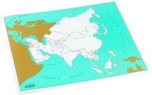 Control chart of Asia, capitals