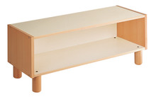 2 Shelf unit can also be bought with castors