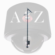 A2Z 40 Watt Solar Powered LED Street Light System SL40EW