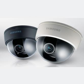 Black or White Samsung Dome Cameras 2080E