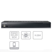 slim form factor 8ch DVR Samsung