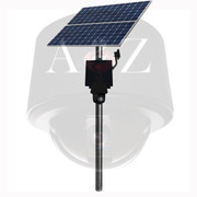 A2Z Wireless Solar Power IR PTZ Camera System SS-IRPTZD