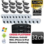 Unitek AHD 1080P 32 channel Security Camera System UT4