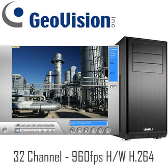32 Channel Real-time 960fps H/W Compression H.264 Geovision PC DVR